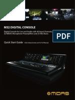 Yamaha M32 Manual