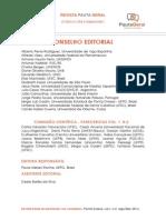 Conselho Editorial - Revista Pauta Geral 2014