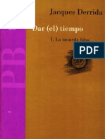 Derrida, Jacques - Dar (el) tiempo.PDF