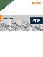 Stihl Ts500i Service Manual-Stihl