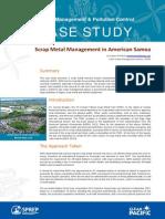 vendor selection case study WMPC ScrapMetal AS1