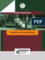 Escenarios y Actores en El Medio Rural - Ligas