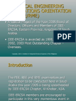 PEE REE RME Requirements