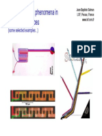 Mass transport phenomena in microfluidic devices