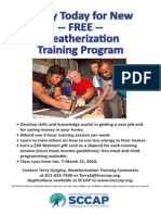 Weatherization Training
