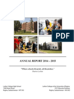 FINAL 2014-2015 Luther College Annual Report December 2015