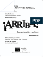Arriba Fifth Edition Answer Key
