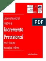 Presentación Incremento Previsional Universidad Autónoma de Chile
