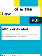 hs health lesson - alcohol and the laws pp final