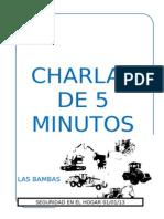 CHARLAS 5 Min Octubre