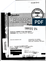 ITR 1660 Ada369152 HARDTACK Nuclear Weapons Tests Military Effects Studies