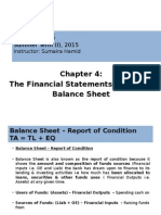 Chapter 4 Balance Sheet Complete