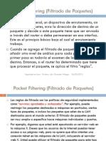 Packet Filtering (Filtrado de Paquetes)