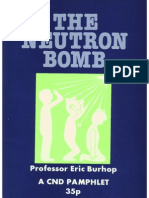 CND Neutron Bomb Propaganda by Cathy Ashton and Eric Burhop