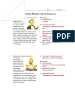 Simpsons Scientific Method-key