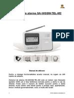SA-WGSM Alarm System_RO