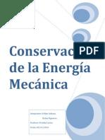 Conservacion de La Energia Mecanica -1