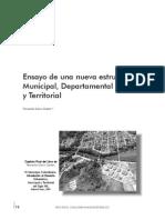ESAP Ensayo de Una Estructura Territorial