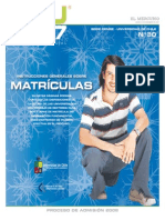 Chile Uni Matricula