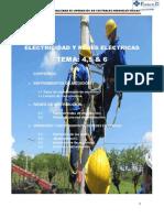 Tema 4,5,6 de Electricidad y Redes Electricas