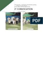 1st Convocation 2015