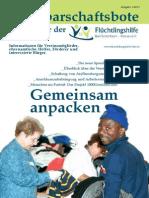 Newsletter Fluechtlingshilfe Bad Schönborn und Kronau 01 2015
