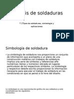 Análisis de Soldaduras