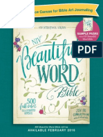 NIV Beautiful Word Bible
