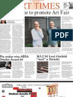 SA Art Times  AUG 09