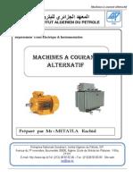 Machines a Courant Alternatif PDF