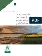 La Economia Del Cambio Climatico - Sintesis 2009