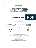 RME Fire Face 400