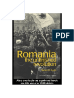 Romania, The Unfinished Revolution