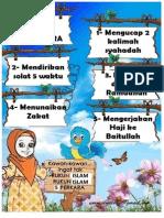 Rukun Islam 5 Perkara