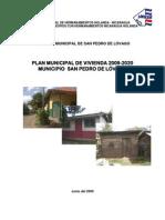 Plan Municipal de Vivienda 2009-2020