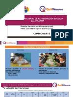 COMPONENTE NUTRICIONAL QALIWARMA HUANUCO