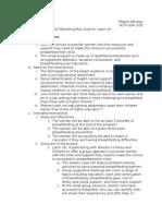 brief marketing plan outline