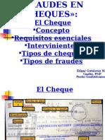 Cheque 12OCT15
