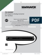Magnavox Tb100mw9 Manual