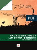 FINANÇAS SOLIDÁRIAS E A LUTA CONTRA-HEGEMÔNICA