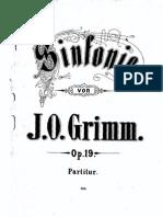 Sinfinie j.o. Grimm