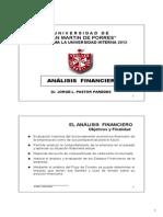 Formulas Ratios Financieros