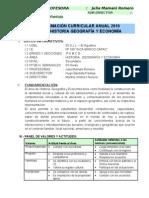 PROGRAMACION ANUAL HISTORIA GEOGRAFIA-I.E Nº 109 INCA MANCO CAPAC -UGEL 05 SJL-SUBDIREC. HUGO BAUTISTA