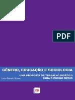 Gênero, educação e sociologia