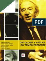 Ontologia e crítica do tempo presente