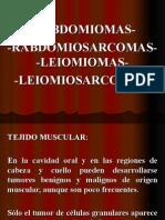 rabdomiomasrabdomiosarcomasleiomiomasleiomiosarcomasss-101012001423-phpapp02.ppt