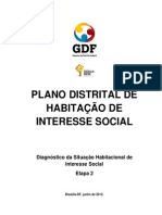 Plano Distrital de Habitacao 2012 Diagnostico