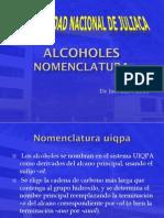 Semana 7 Sesion 1 - Alcoholes Nomenclatura