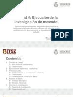 Ejecucion de La Investigacion de Mercados