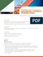 Temario Comercio Internacional